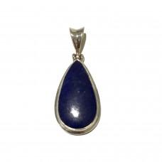 Lapis Lazuli Jem Stone set in Sterling Silver