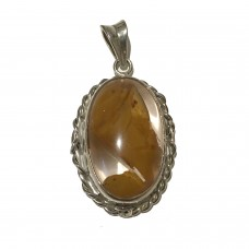 Amber Jemstone set in Sterling Silver