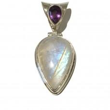 Moonstone jemstone set in Sterling Silver SOLD