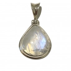 Moonstone jemstone set in Sterling Silver   SOLD OUT