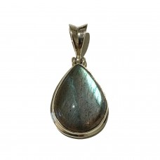 Labradorite Jemstone set in Sterling Silver  SOLD
