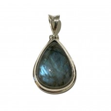 Labradorite Jemstone set in Sterling Silver ( size 9) SOLD