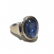 Kyanite Jemstone set in Sterling Silver (size 9)