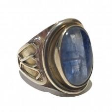 Kyanite Jemstone set in Sterling Silver ( size 10)
