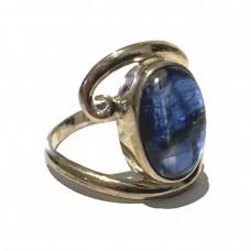 Kyanite Jemstone set in Sterling Silver ( size 11)