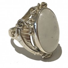 Moonstone jemstone set in Sterling Silver ( size 10 and size 11) SOLD