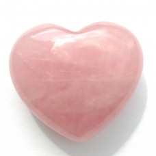 Rose Quartz Heart -